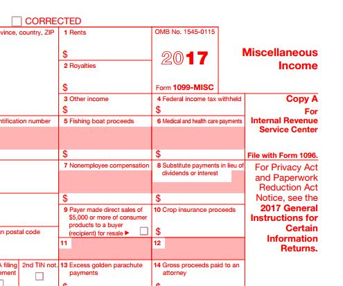 5 Simple Steps To 1099 Misc Forms Md Bookkeeping Internet